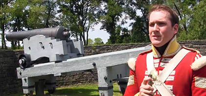 Cpl. Pat Jenish of The Fort York Guard