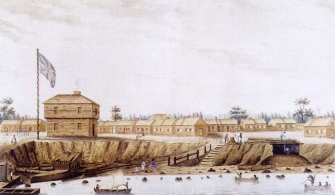 York Barracks, 1804.