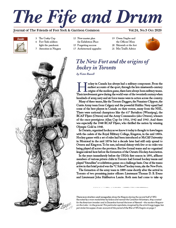 fife and drum oct 2020 cover