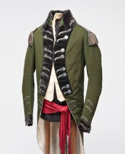 William Jarvis, York, uniform, Queens York Rangers, Upper Canada, Toronto, 1791. The Friends of Fort York.